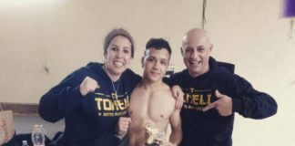 Atleta suzanense de 19 anos é campeão do War Muay Thai Fight